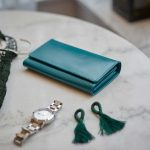 portfel niebieski